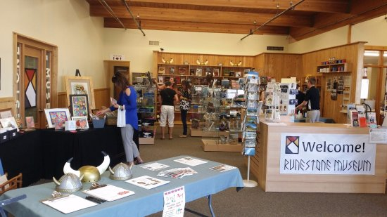 Alexandria, MN: Museum Shop contains unique treasures and books