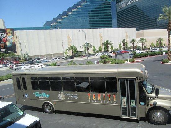 Las vegas hotel shuttle strip