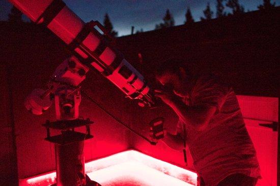 Twizel, Nowa Zelandia: Stargazing at Pukaki Observatory located onsite