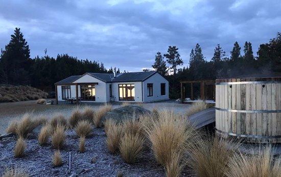 Twizel, นิวซีแลนด์: Ashley Mackenzie Villa and Private Spa