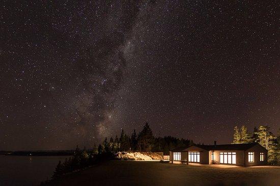 Twizel, New Zealand: The  milky way above Ashley Mackenzie Villa