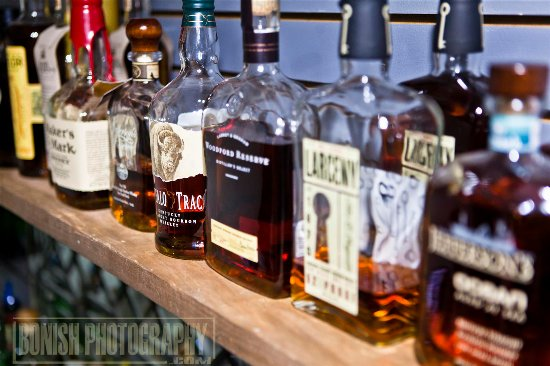 Cedar Key, FL: Many Top Shelf Bourbon's to pick from while you shop