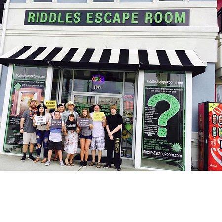 Myrtle Beach Escape Room  People