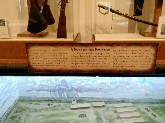 Fort Morgan, CO: Items Belonging to the Troops