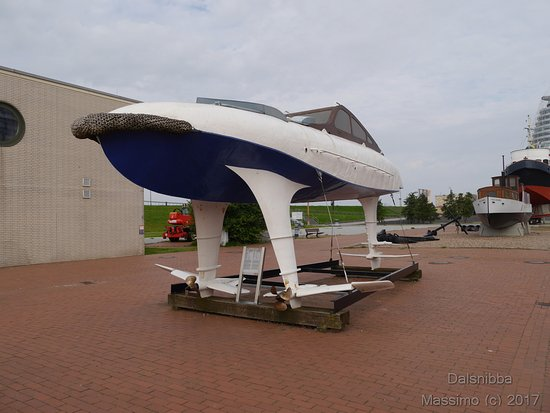 German Maritime Museum : esterno museo marittimo