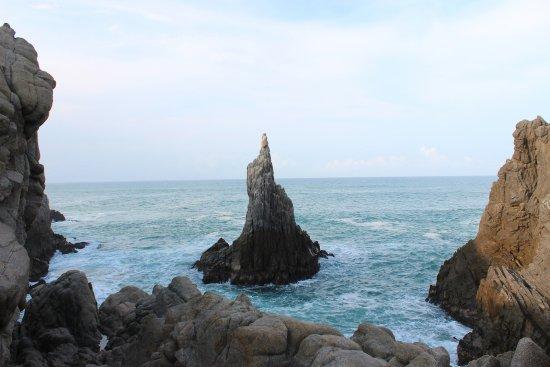 Playa Azul, México: dedo de dios