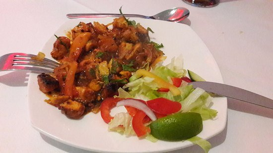 Brackley, UK: Chili Tikka starter