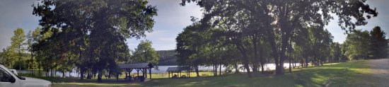 Franklin, Pensylwania: Panorama of the Lake