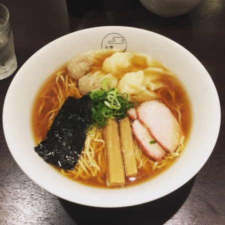 Yakumo: Shoyu Ramen with dumplings