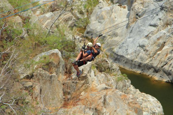 Tandem Zip Line Picture Of Cabo Adventures Cabo San