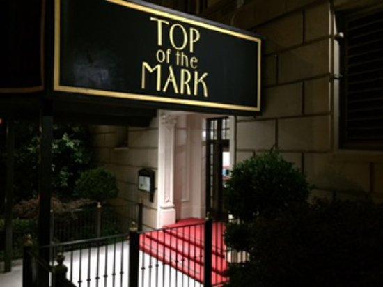 Top Of The Mark San Francisco Nob Hill Menu Prices