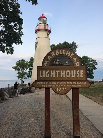 Marblehead, Огайо: Great history behind the building of the lighthouse.