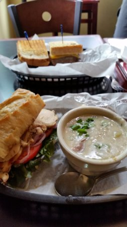 Seasons Cafe : Hearty Soups and Sandwhichs