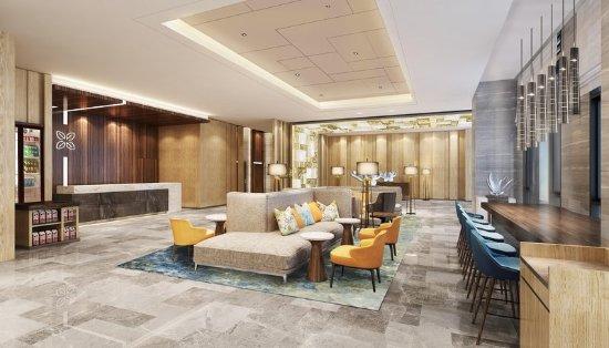 Shiyan, Cina: Lobby Lounge