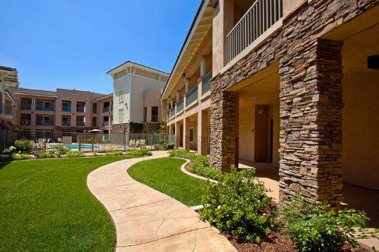 San Dimas, Californie : Courtyard