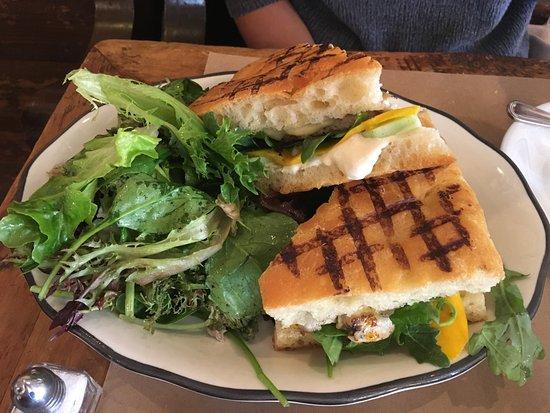 Al Di La Trattoria : Fish Sandwich