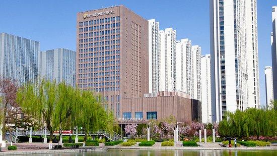 Tangshan, China: Hotel Exterior