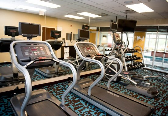 Fairfield Inn & Suites by Marriott Moncton : Fitness Center