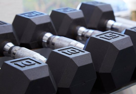 Residence Inn Naples: Fitness Center – Free Weights