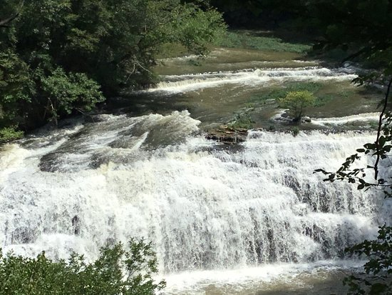 Sparta, TN: Middle Falls at Burgess Falls State Park