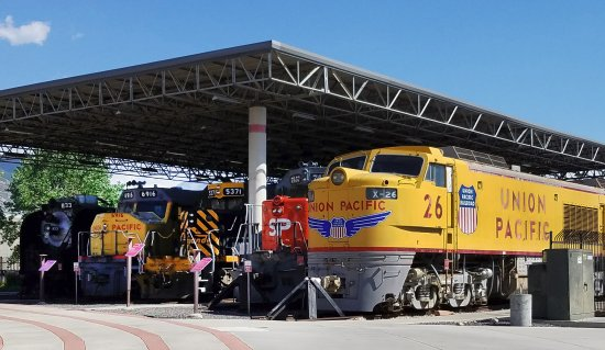 Utah State Railroad Museum: Collection of locomotive