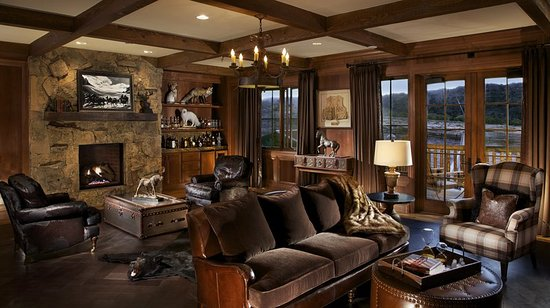 The lodge and spa at brush creek ranch bewertungen fotos for Cheap man cave decorating ideas