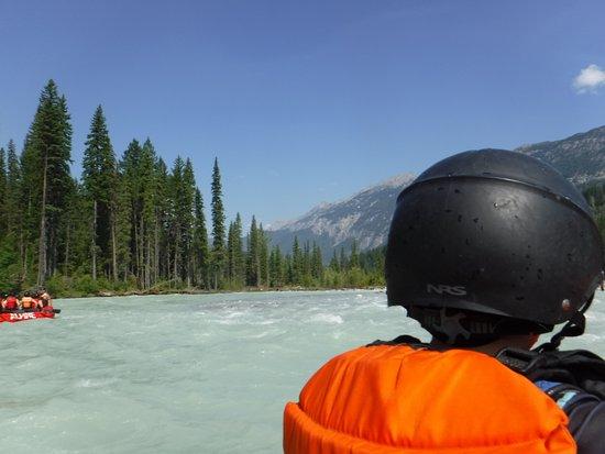 โกลเดน, แคนาดา: Rafting on the Kicking Horse