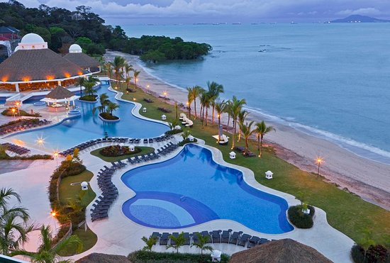 The Westin Playa Bonita Panama: Aerial View Pools