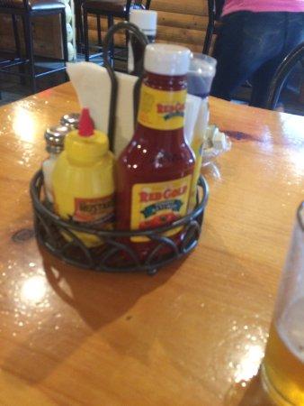 Danbury, WI: What? No Heinz Ketchup?