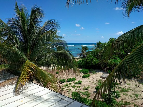 Bodden Town, Grand Cayman: View from our balcony