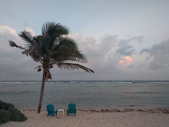 Bodden Town, Grand Cayman: Last night at the Turtle Nest Inn