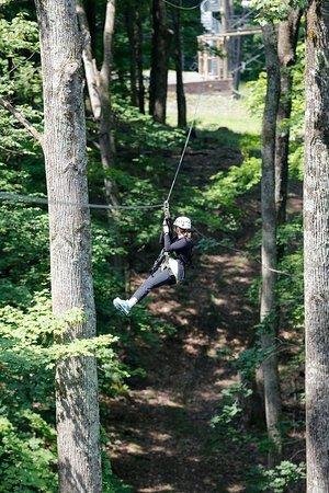Hot Springs, VA: The Ridge Runner Zip Tour