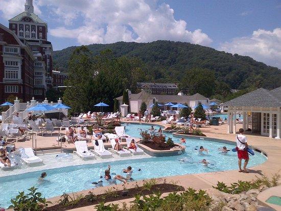 Hot Springs, VA: Lazy River at Allegheny Springs