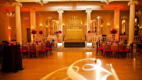 Hot Springs, VA: Crystal Ballroom Reception