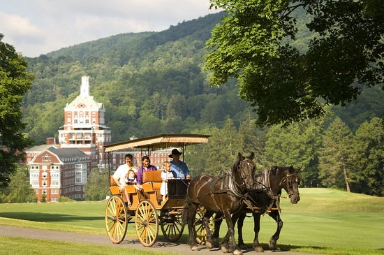 Hot Springs, VA: Carriage Rides