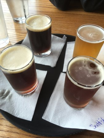 Red Wing Brewery: Beer flight