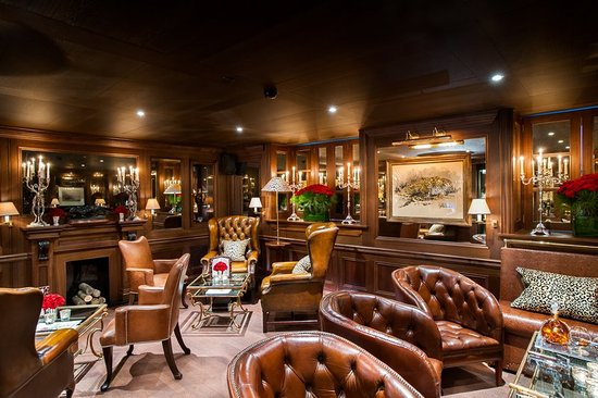 Hotel d'Angleterre: Cigar Lounge