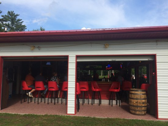 Webster, WI: The Outdoor Bar