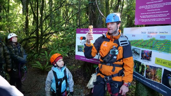 Rotorua Canopy Tours: Conservation and feral management is high on the agenda of the Canopy Tours team.