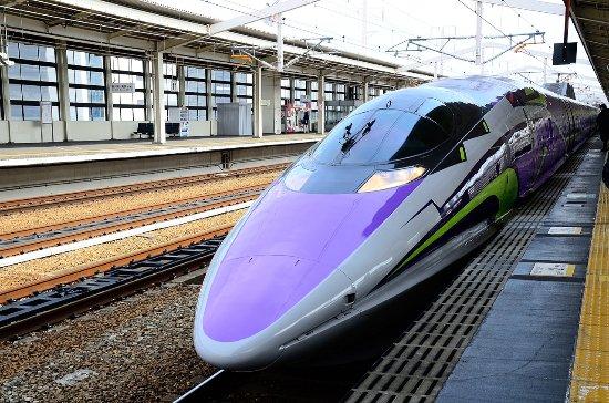 500 Type Eva (Shinkansen Evangelion Project)照片