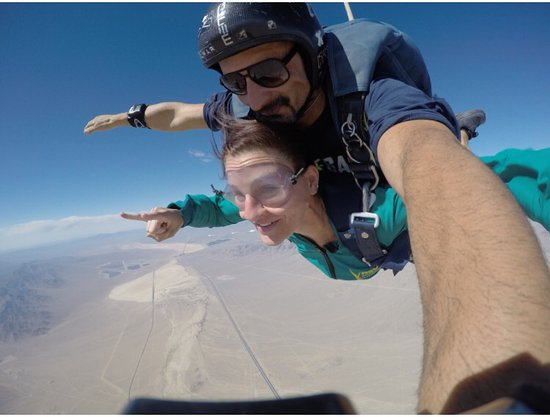 Vegas Extreme Skydiving : it was a great first jump!