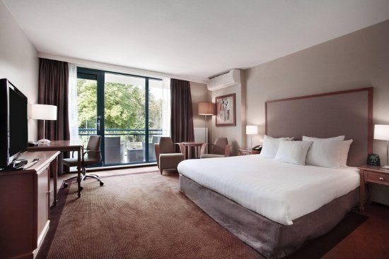 Soestduinen, Nederland: King Hilton Guest Room