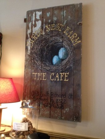 Bedford, PA: Birds nest cafe