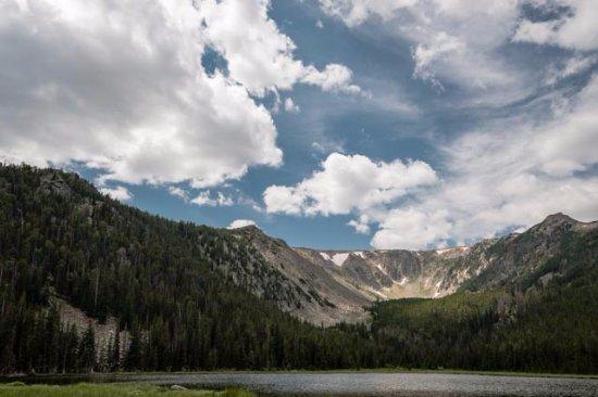 Basin Creek Lakes Trail: Upper Basin Lake
