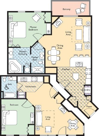 Wyndham Governor's Green Floor Plan