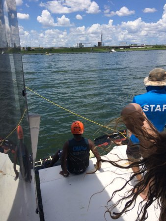Orlando Watersports Complex : Newbies are well supervised
