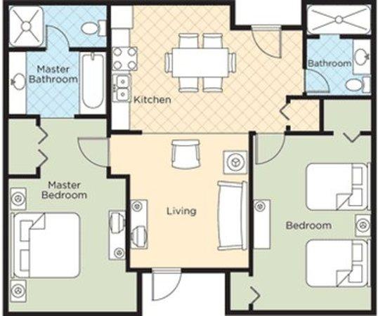 Wyndham Bentley Brook Floor Plan