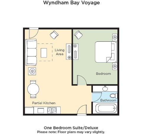 Wyndham Bay Voyage Inn: Wyndham Bay Voyage Resort Floor Plan