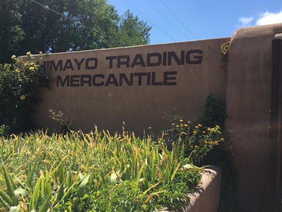 Chimayo, NM: Exterior Sign