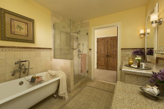 Rancho Santa Fe, Califórnia: Garden Cottage Bathroom
